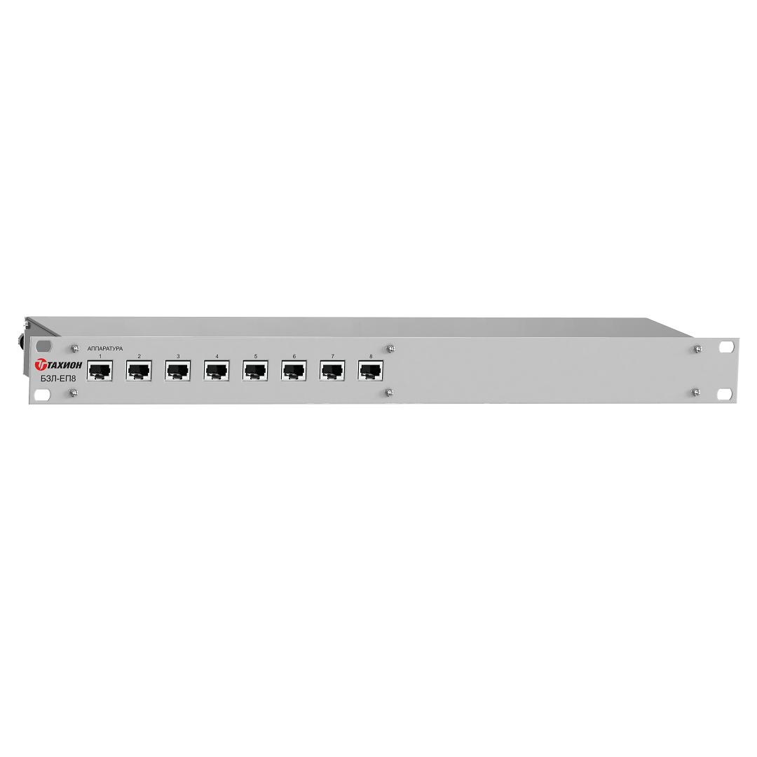 Блок защиты портов в сети ETHERNET c питанием РоЕ <br>БЗЛ-ЕП16 17