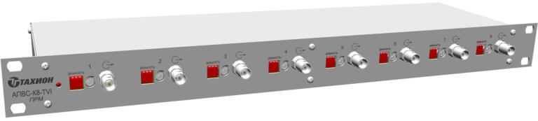Аппаратура передачи видеосигнала  по витой паре многоканальная <br>АПВС-К4-TVI