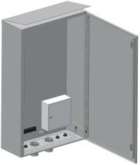 Шкаф приборный участковый телевизионный <br>ШПУ-2T