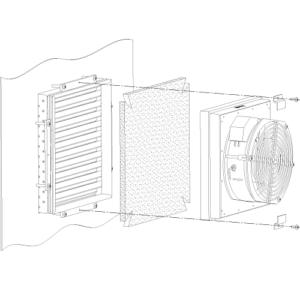 Фильтрующий материал (для ВТШ-170/ФТШ-170) <br>ФМ-5
