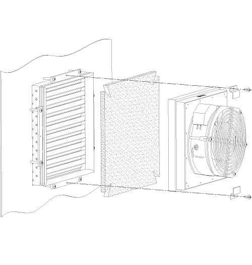 Фильтрующий материал (для ВТШ-125/ФТШ-125) <br>ФМ-2