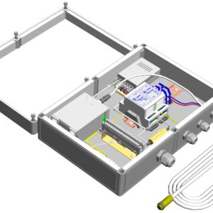 Коробка монтажная герметичная с обогревом <br>КМГО-220-02