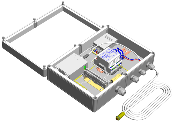 Коробка монтажная герметичная с обогревом <br>КМГО-220 14