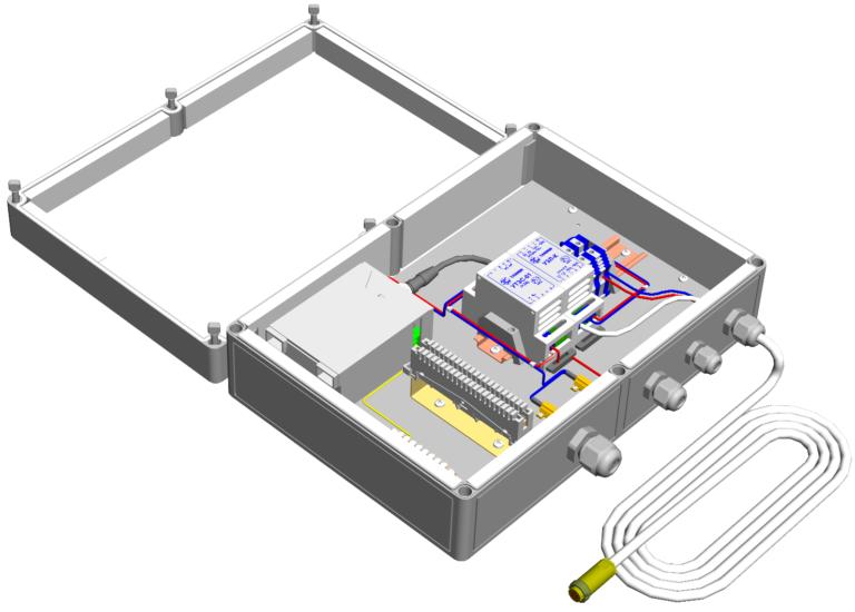Коробка монтажная герметичная с обогревом <br>КМГО-24