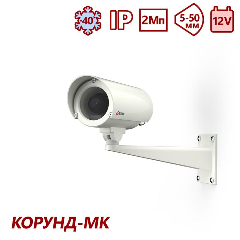 "Видеокамера сетевая серии ""Корунд-МК"" <br>ТВК-61IP-5-V550-12VDC"