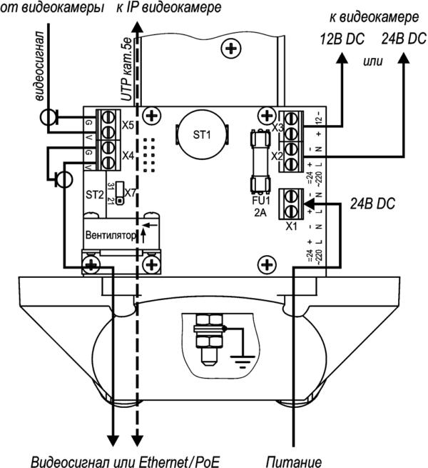 Подключение ТГБ-7C-24