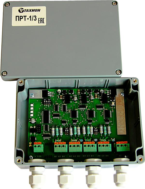 Повторитель-разветвитель интерфейса RS-485 <br>ПРТ-1/3