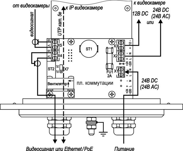 Подключение ТГБ-11-24