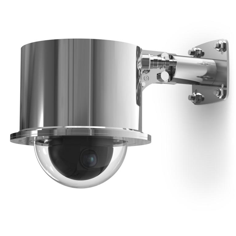 Видеокамера купольная взрывозащищённая сетевая КВ-1(-2,-3)-IP-Н-ВБ-24VAC