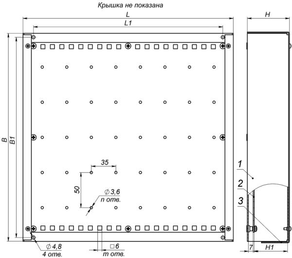 Устройство, габаритные и установочные размеры КМВ
